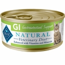 Blue Buffalo Natural Veterinary Diet - GI Gastrointestinal Support Canned Cat Food (24-pack)