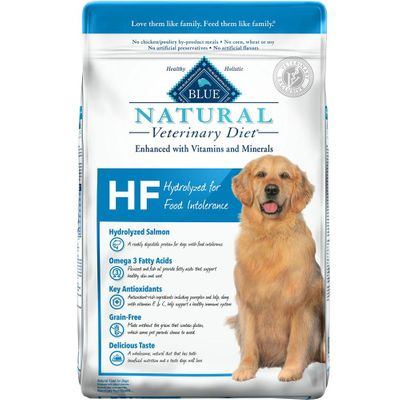 Blue Buffalo Natural Veterinary Diet - HF Hydrolyzed for Food Intolerance Dry Dog Food (6 lb)