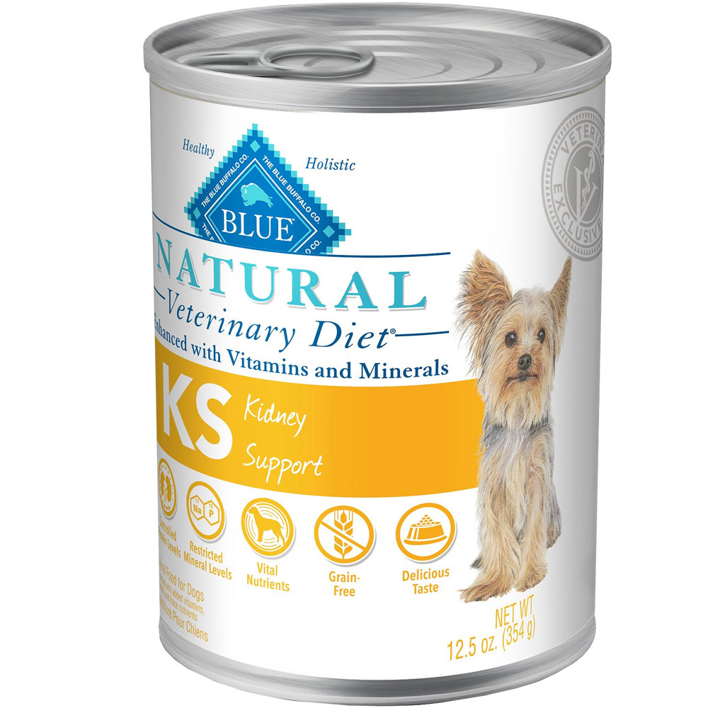 Image of Blue Buffalo Natural Veterinary Diet - KS Kidney Support Canned Dog Food (12-pack)