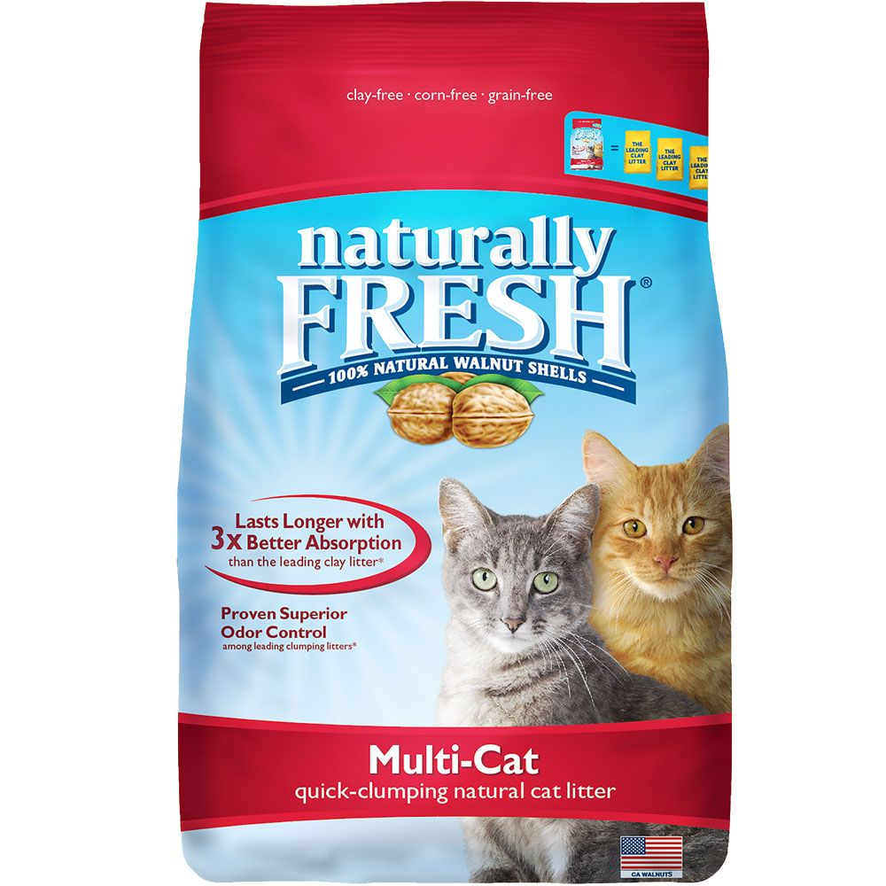 BLUE-BUFFALO-NATURALLY-FRESH-MULTI-CAT-CLUMPING-LITTER-14-LB
