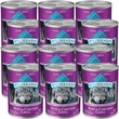 Blue Buffalo Wilderness - Beef & Chicken Grill Canned Dog Food (12x12.5 oz)