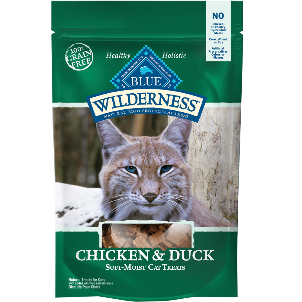 Image of Blue Buffalo Wilderness Cat Treats - Chicken & Duck (2 oz)