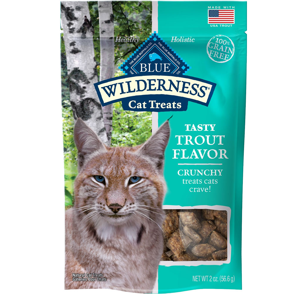 Image of Blue Buffalo Wilderness Cat Treats - Tasty Trout Flavor (2 oz)