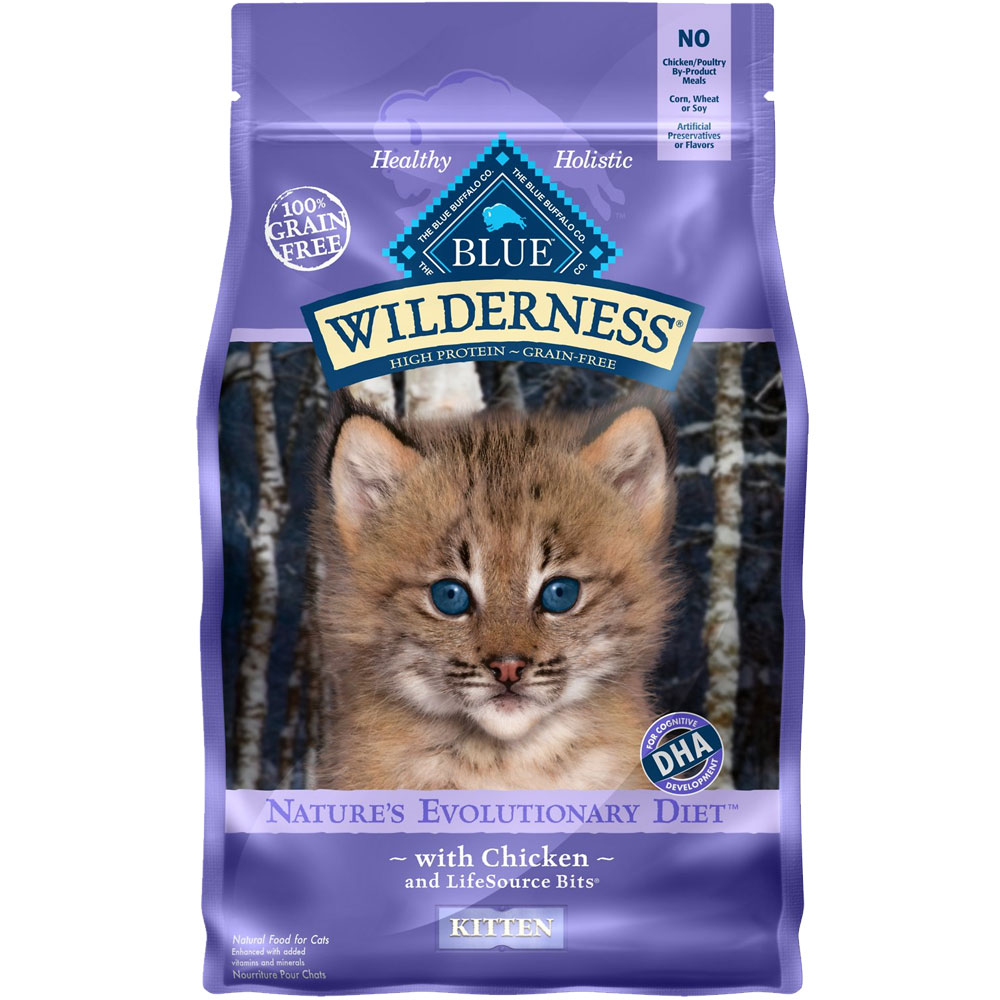 Blue Buffalo Wilderness Grain-Free Chicken for Kittens (5 lb) im test