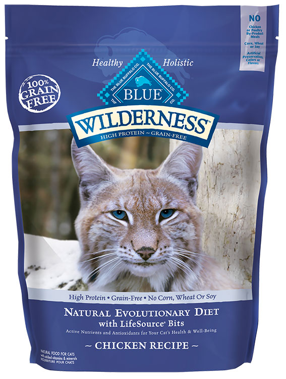 Blue Buffalo Wilderness for Cats Chicken Recipe (6 lbs) im test