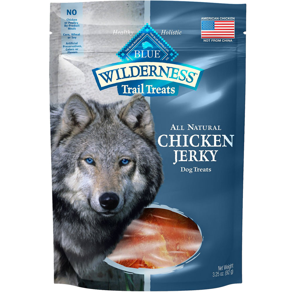 Blue Buffalo Wilderness Grain-Free Jerky Treats - Chicken (3.25 oz) im test