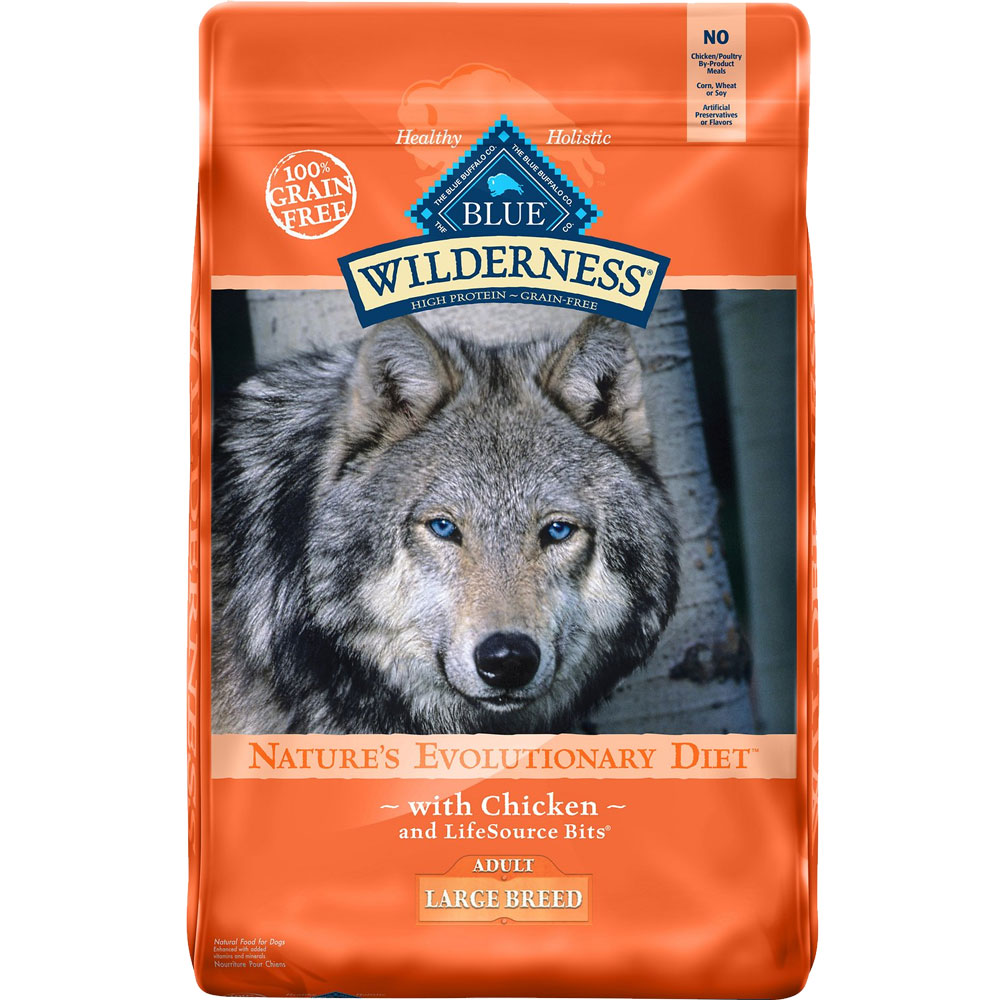 Blue Buffalo Wilderness Nature's Evolutionary Adult Large Breed - Chicken (24 lb) im test