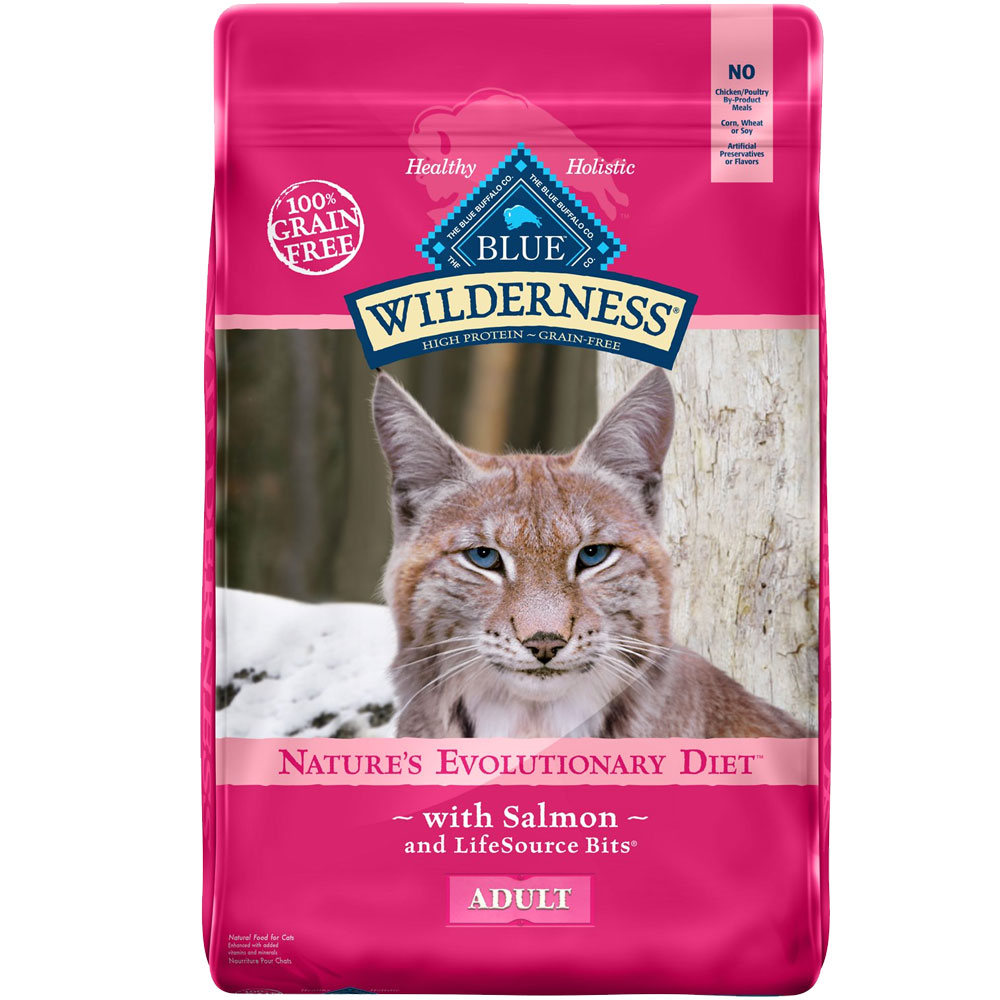 Blue Buffalo wilderness Grain-Free Salmon Recipe for Cats (11 lb) im test