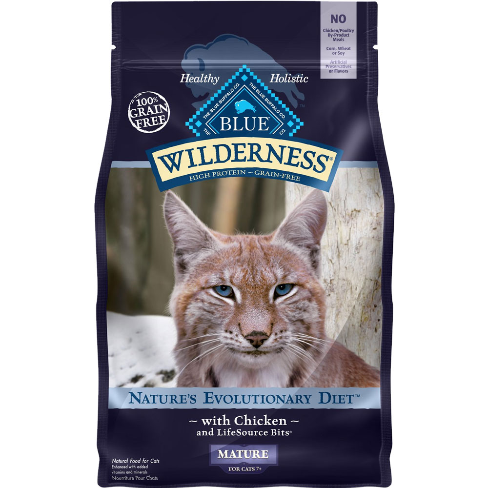 Blue Buffalo Wilderness Grain Free - Chicken Recipe for Cats (5 lb) im test