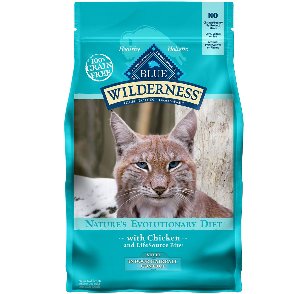 BLUE-BUFFALO-WILDERNESS-HAIRBALL-CONTROL-CHICKEN-CAT-FOOD-5LB