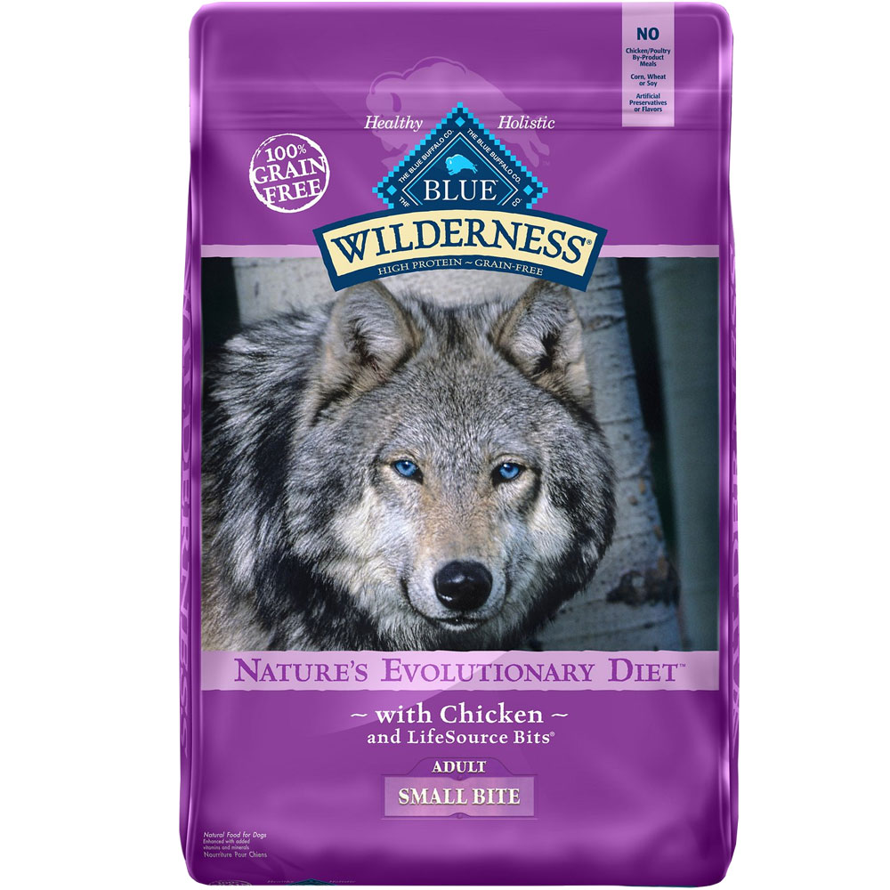 BLUE-BUFFALO-WILDERNESS-SMALL-BITE-CHICKEN-DOG-FOOD-24LB