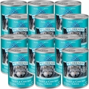Blue Buffalo Wilderness Nature's Evolutionary Diet - Trout & Chicken Grill Canned Dog Food (12x12.5 oz)