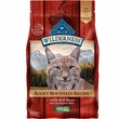 Blue Buffalo Wilderness Rocky Mountain Recipe - Red Meat Adult Dry Cat Food (4 lb)