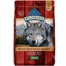 Blue Buffalo Wilderness Rocky Mountain Recipe - Red Meat Adult Dry Dog Food (10 lb)