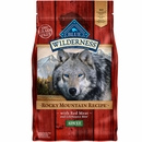 Blue Buffalo Wilderness Rocky Mountain Recipe - Red Meat Adult Dry Dog Food (4 lb)