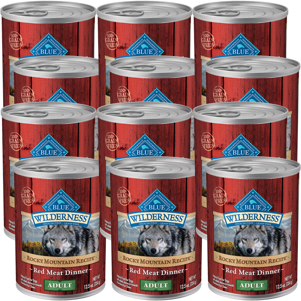 BLUE-BUFFALO-WILDERNESS-ROCKY-MOUNTAIN-RED-MEAT-DOG-FOOD-12X12-5OZ