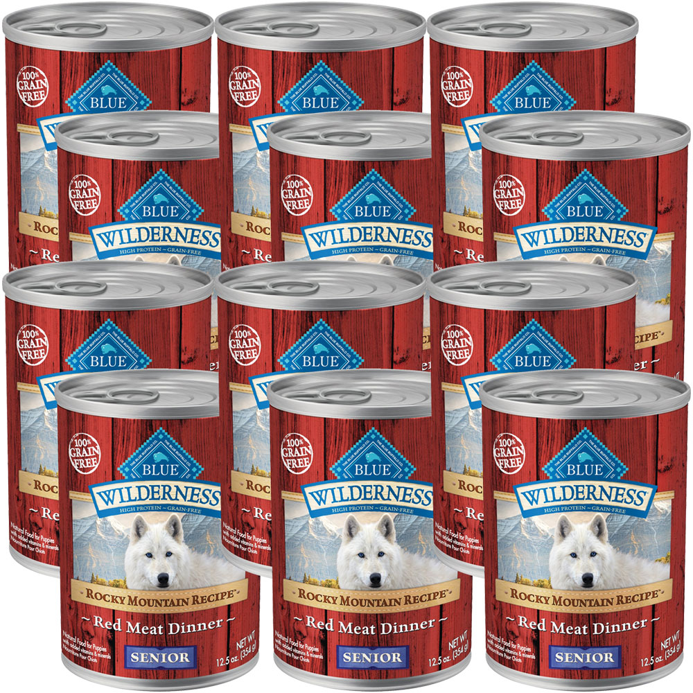 BLUE-BUFFALO-WILDERNESS-ROCKY-MOUNTAIN-RED-MEAT-SENIOR-DOG-FOOD-12X12-5OZ