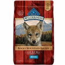 Blue Buffalo Wilderness Rocky Mountain Recipe - Red Meat Puppy Dry Dog Food (22 lb)