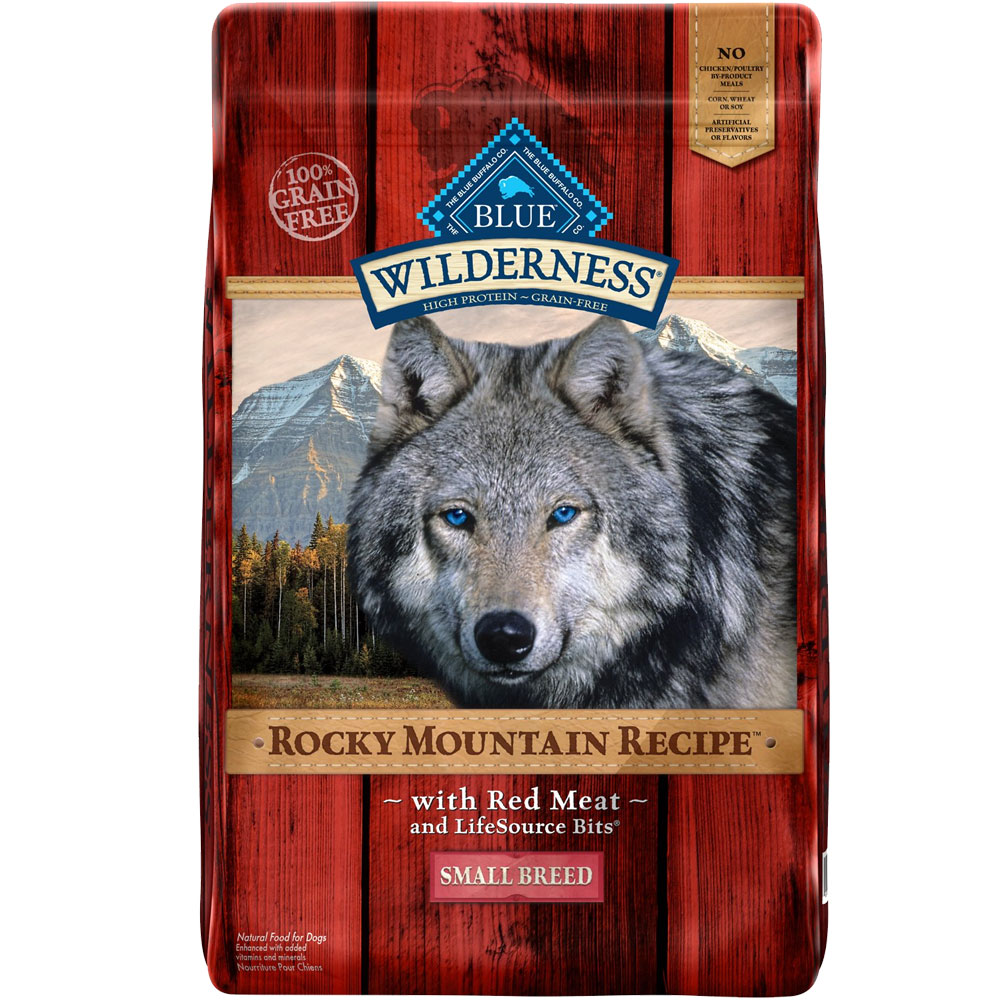BLUE-BUFFALO-WILDERNESS-ROCKY-MOUNTAIN-SMALL-BREED-RED-MEAT-DOG-FOOD-10LB