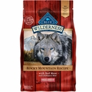 Blue Buffalo Wilderness Rocky Mountain Recipe - Small Breed Red Meat Dry Dog Food (4 lb)