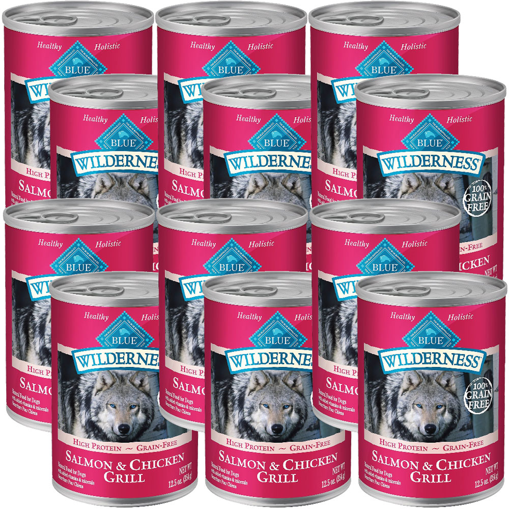 BLUE-BUFFALO-WILDERNESS-SALMON-CHICKEN-GRILL-DOG-FOOD-12X12-5OZ