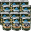 Blue Buffalo Wilderness Wolf Creek Stew - Hearty Duck Stew Canned Dog Food (12x12.5 oz)