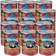 Blue Buffalo Wilderness Wolf Creek Stew - Savory Salmon Stew Canned Dog Food (12x12.5 oz)