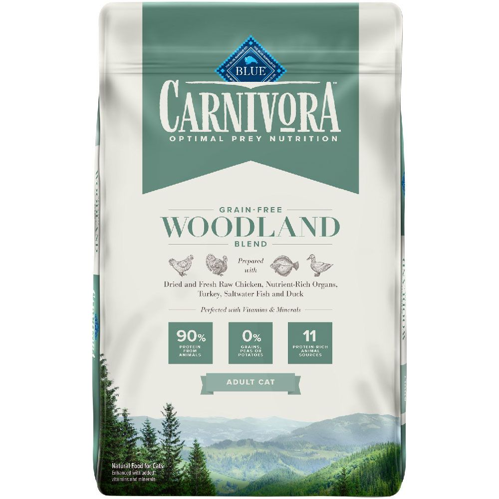 BLUE-CARNIVORA-WOODLAND-BLEND-ADULT-CATS-10LB