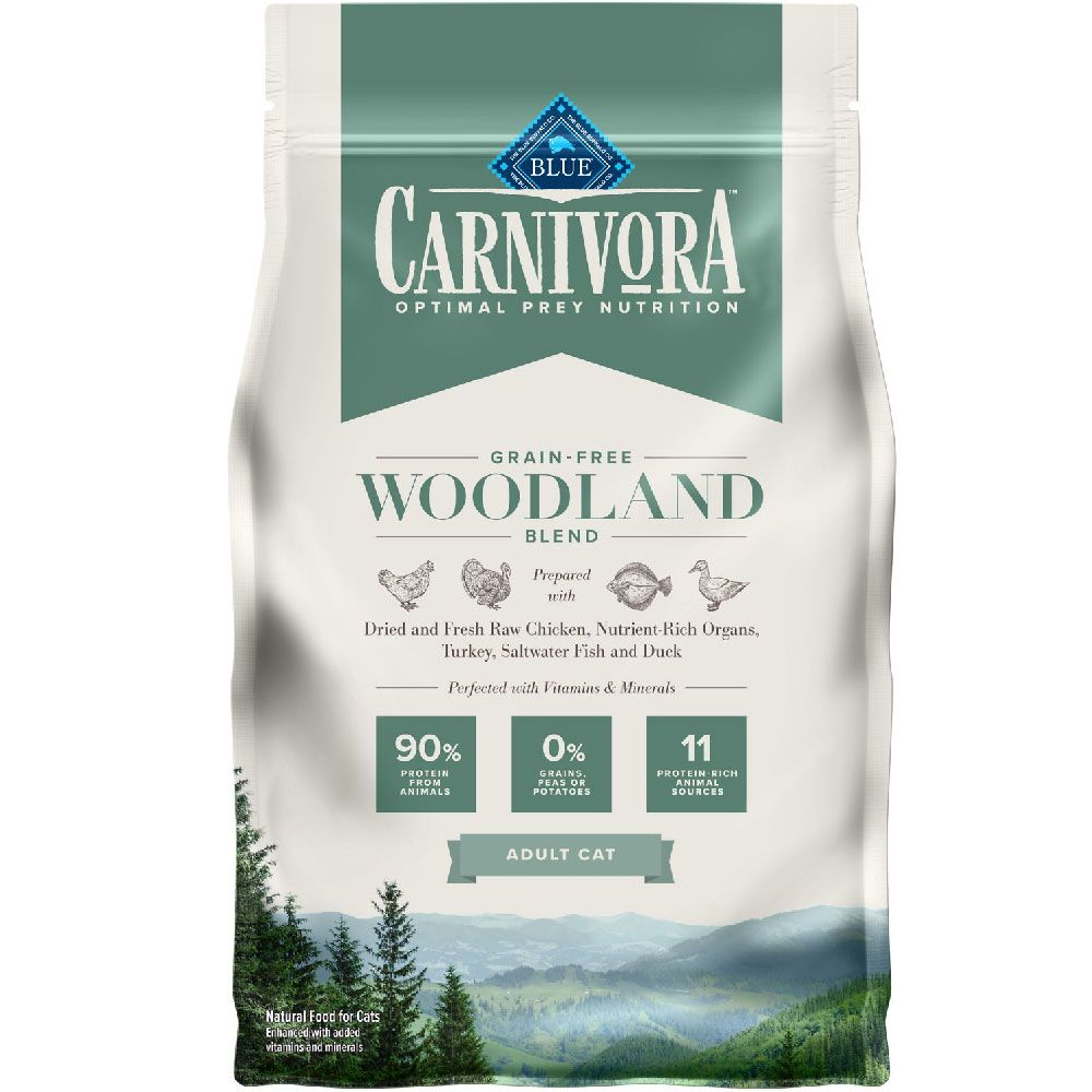 BLUE-CARNIVORA-WOODLAND-BLEND-ADULT-CATS-4LB