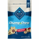 BLUE Chomp'n Chew Small/Medium Size, Dogs 15-50 lbs. 2 count