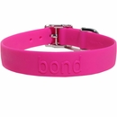 Bond Dog Collar Raspberry  - Large