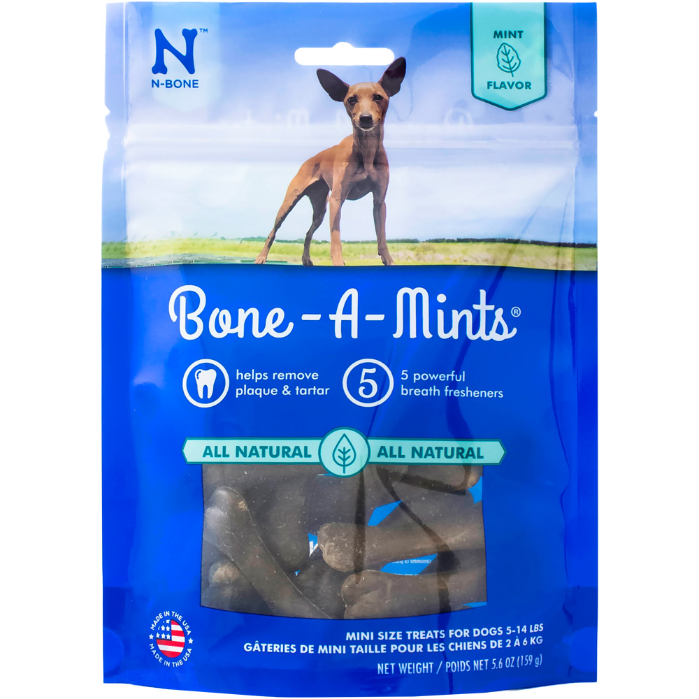 Bone A Mint Wheat Free - Mini (16-Pack) im test