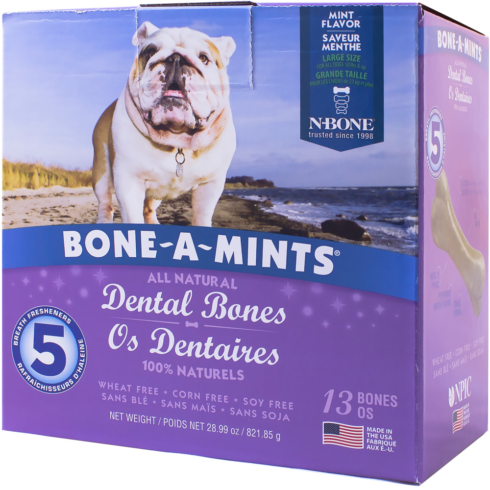 Bone-A-Mints Dental Bones Large (13 Pack) im test