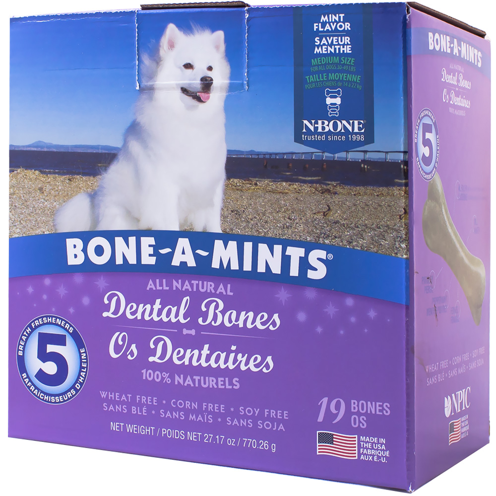 Bone-A-Mints Dental Bones Medium (19 Pack) im test