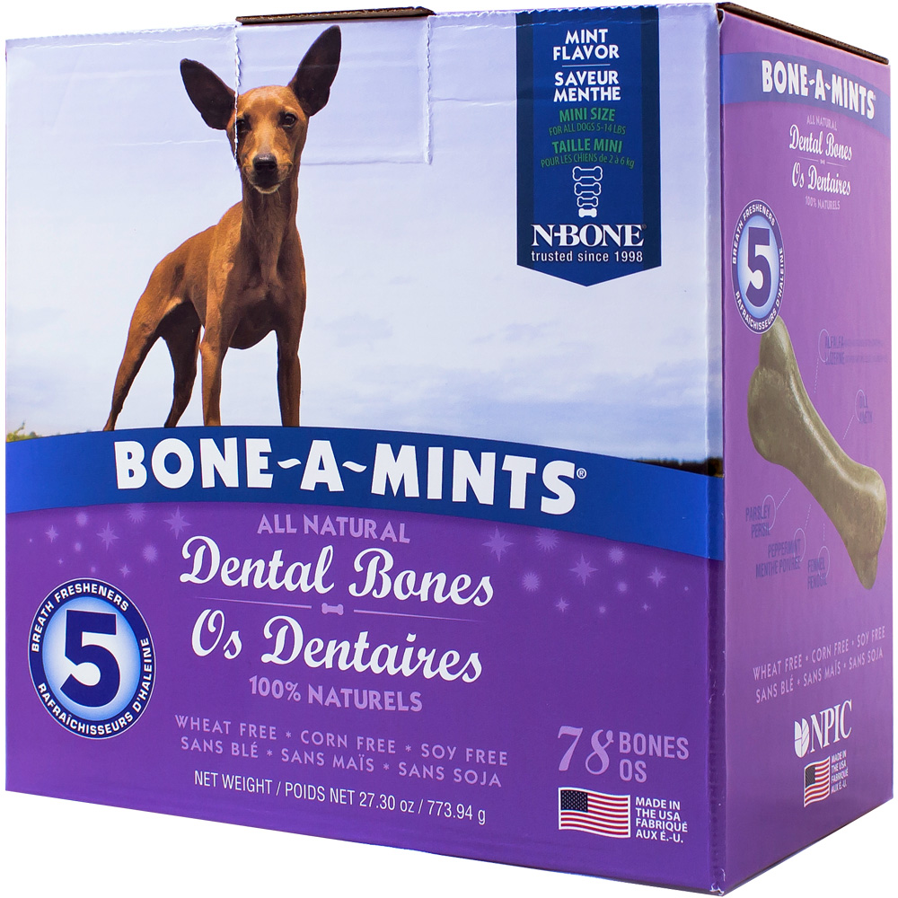 Bone-A-Mints Dental Bones Mini (78 Pack) im test