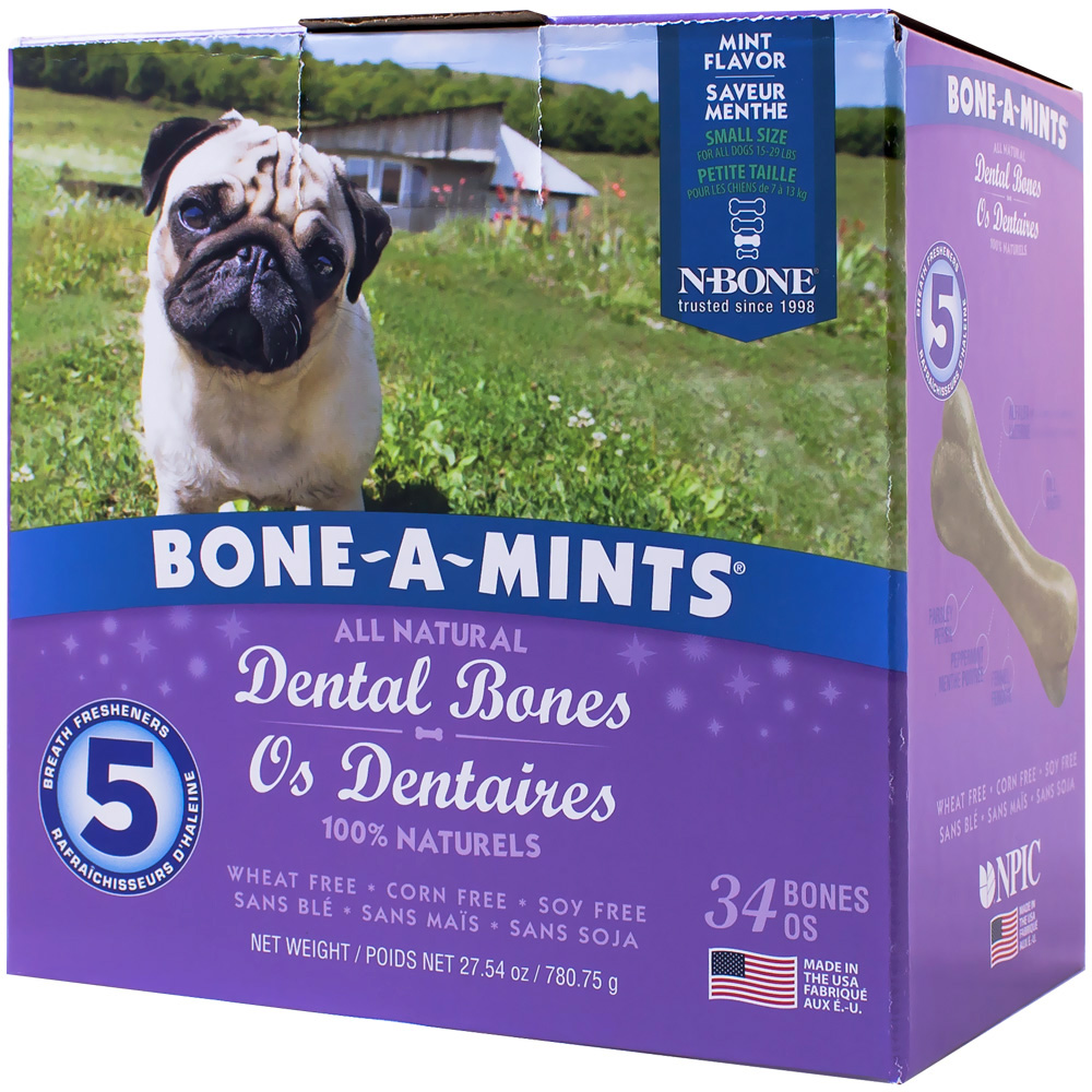 Bone-A-Mints Dental Bones Small (34 Pack) im test