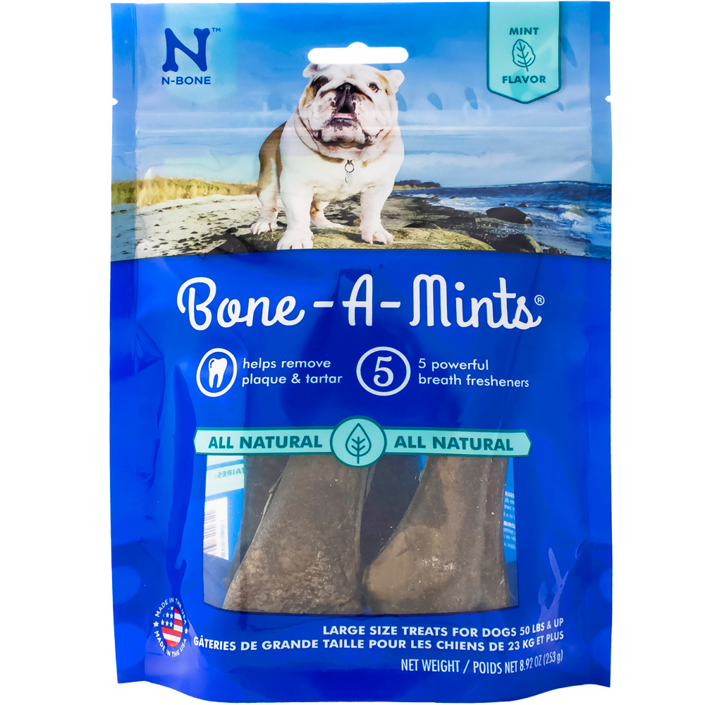 Bone A Mints Wheat Free - Large (4-Pack) im test