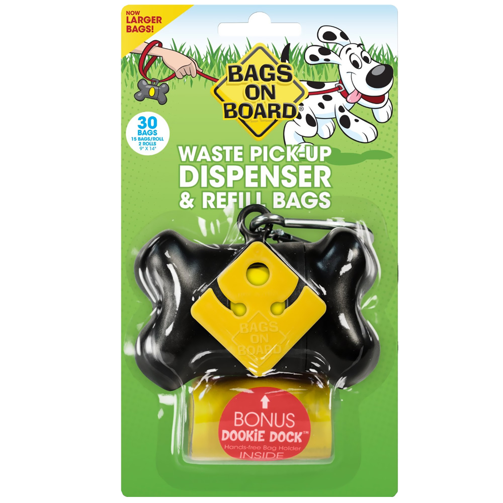 Bags on Board Bone Dispenser - Black (30 bags) im test