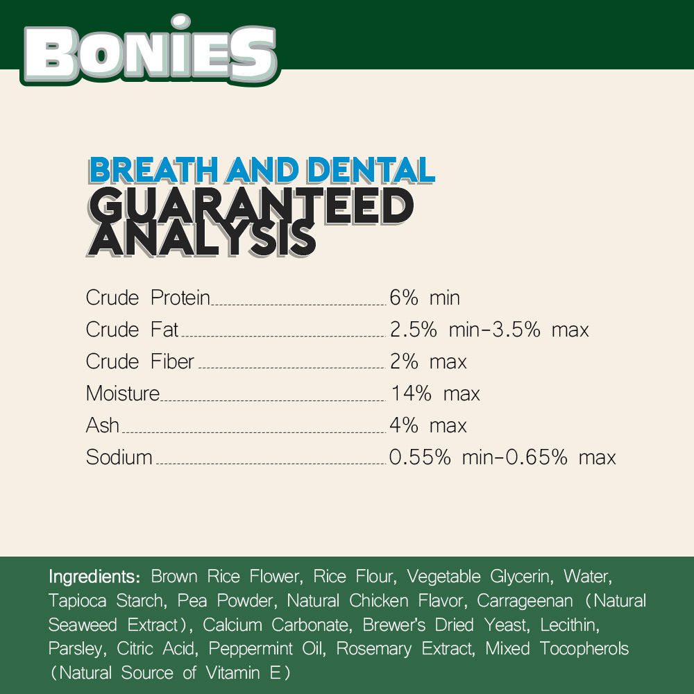 BONIES-DENTAL-BONES-REGULAR-30