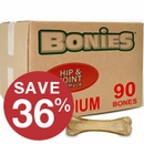 BONIES® Hip & Joint Health BULK BOX MEDIUM (90 Bones)