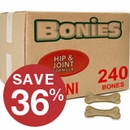 BONIES® Hip & Joint Health BULK BOX MINI (240 Bones)