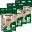"BONIES"" Hip & Joint Health Multi-Pack SMALL 3-PACK (45 Bones)"
