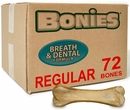 BONIES® Natural Dental Health BULK BOX LARGE/REGULAR (72 Bones)