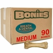 "BONIES"" Natural Dental Health BULK BOX MEDIUM (90 Bones)"