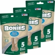 "BONIES"" Natural Dental Health Multi-Pack LARGE/REGULAR 3-PACK (15 Bones)"