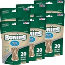 BONIES Natural Dental Health Multi-Pack MINI 6-PACK (120 Bones)