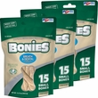 "BONIES"" Natural Dental Health Multi-Pack SMALL 3-PACK (45 Bones)"