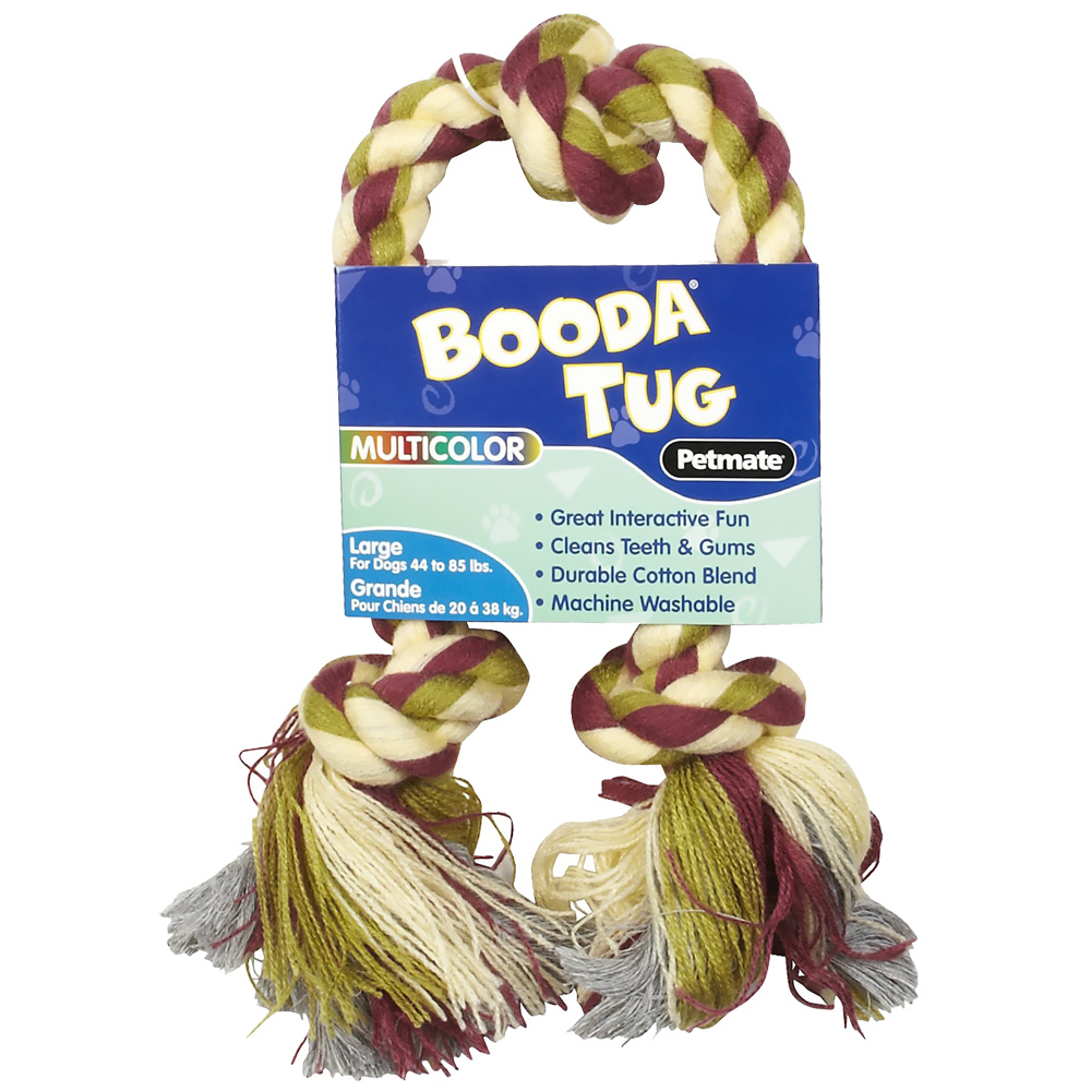 Image of Booda 3 Knot Multi-Color Tug Rope - Large