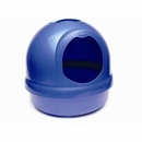 Booda Dome Covered Cat Litter Box Dark Blue ^