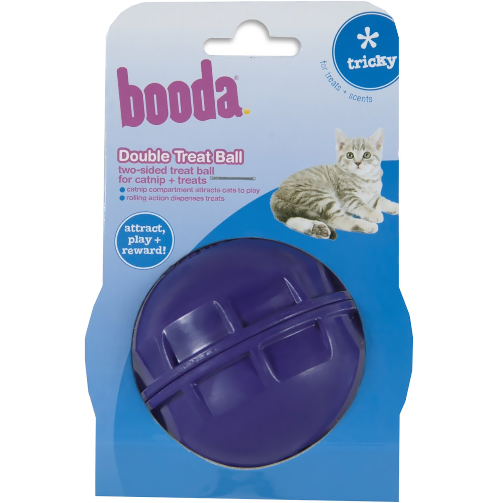 Image of Booda Double Treat Ball - For Cats - from EntirelyPets